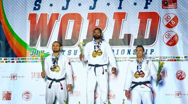 RENAN VITAL THE 6 CONSECUTIVE YEARS SJJIF WORLD JIU-JITSU CHAMPION